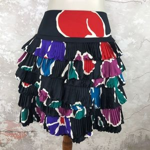Marc Jacobs Normandy Tiered Ruffle Mini Skirt 4